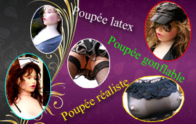 poupee sexe latex gonflable realiste