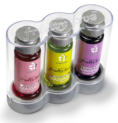 Fruity love massage 3 pack 50ml