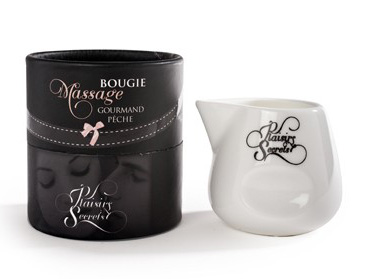 Bougie massage plaisirs secrets Peche