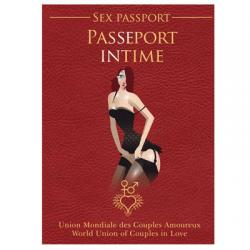 Passeport Intime ou le Sexe Passport