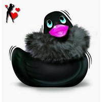 Grand canard stimulateur massage Big Teaze Toys noir